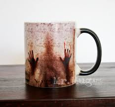 Color Changing Mugs Walking Dead Mug Walking Dead Color Changing Coffee Mug