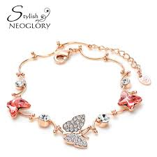 design charm bracelet images Neoglory stylish austria crystal czech rhinestone charm bracelet jpg