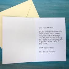 the black rabbit owl at sea happy new home card handmade
