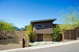 Modern Home Design Enterprise Modern Stone Wall Indoor Wood Fence With Grey Wall Can Add The