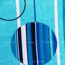 povlečení bavlna lea modré 140x200 70x90 povlečení v akci