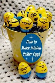 Easter Egg Decorations Diy Minion Egg Ideas Easter Egg Crafts Holiday Crafts For Kids