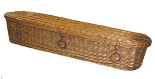 wicker casket save the environment with green caskets
