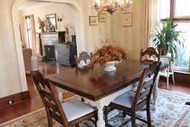 painted furniture dining room table update new house new home