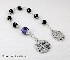 rosary of the seven sorrows of a catholic librarian the catholic nook rosary of the