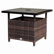white outdoor side table 20 beautiful small metal patio side tables best home template
