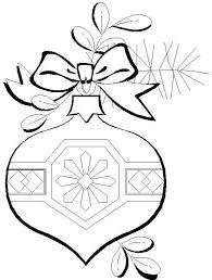 100 ideas christmas decorations coloring pages on www