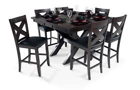 bobs furniture kitchen table set adorable x factor counter 7 set bob s discount furniture of
