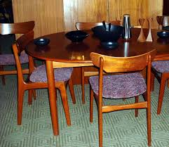 Chair Mid Century Danish Modern Arne Vodder Teak Dining Table - Teak dining room chairs canada