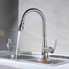 touchless kitchen faucet costco members flow motion activated pull kitchen faucet