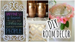 Diy Bedroom Decor by Diy Room Decorations For Cheap Youtube