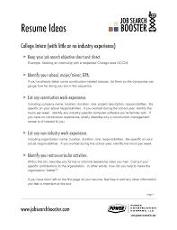 Sample Of Great Resume Job Sample Of Good Resume For Job Application