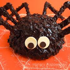 Halloween Cake Pop Ideas by Giant Cake Ball Spider Hungry Happenings Halloween