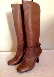 womens boots size 4 ash brown all leather cowboy boots size 4 37 50 whispers dress