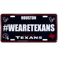 Houston Texans Flags Houston Texans License Plate Hashtag U2013 Diehardsportsfanatics