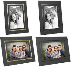 photo album for 5x7 photos cardboard picture frames 4x5 w foil border 25 pack