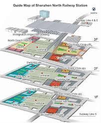 Hong Kong International Airport Floor Plan Shenzhen North Railway Station Train Schedule Tickets Map