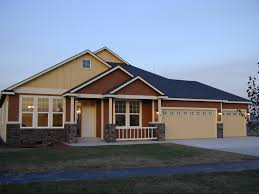 nice single story house plans with bonus room above garage 4