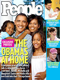 the obama s the obamas get personal people com