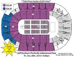 Red Rocks Seat Map Jeff Dunham