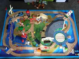 thomas the train wooden table thomas wooden railway island of sodor bmm kids pinterest