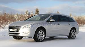 peugeot 508 sw peugeot 508 sw allroad spied undisguised