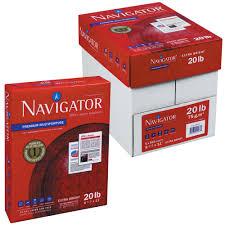 paper ream box navigator nmp1720 11 x 17 white ream of 20 premium multipurpose