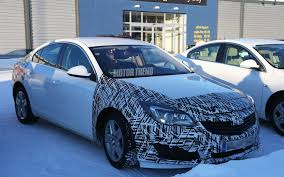 buick opel spied euro market opel insignia hints at refreshed buick regal