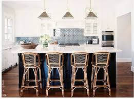 blue bar stools kitchen furniture gray subway tiles navy blue island bistro bar stools kitchen