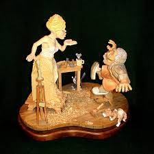 wood carving caricatures whittle and chips ortel