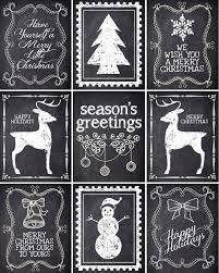 christmas chalkboard labels free printable how to nest for less