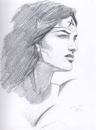 wonder woman sketch by roguederek on deviantart