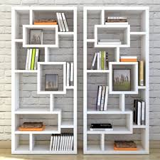 ivory painted bookcase wayfair