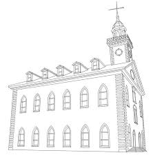 temple coloring page 83 best clip art for primary sharing time images on pinterest