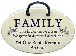 family tree wall plaque family like branches on a