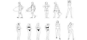 persona seduta dwg dwg ad箟 plaj insanlar箟 箘ndirme linki http www dwgindir