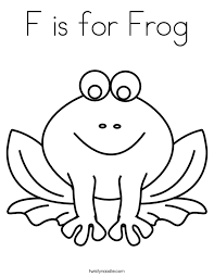 Colouring Pages Frog Funycoloring Frog Colouring Page