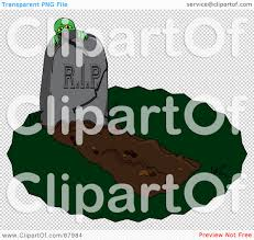 graveyard clipart royalty free rf clipart illustration of a zombie hiding behind a