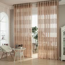 Geometric Orange Curtains Cheap Sheer Curtains Semi Sheer Curtains Sheer Curtains On Sale