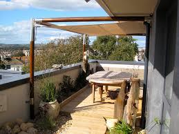 shade sail for shabby chic beach vibe on brighton balcony