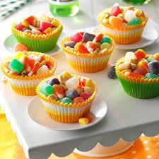 sweet u0027n u0027 spicy halloween munch recipe taste of home
