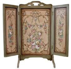 Hand Painted Fireplace Screens - 8 best antique firescreens images on pinterest
