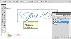 cara membuat logo bercahaya di photoshop cara mudah membuat tulisan 3d di photoshop video tutorial89