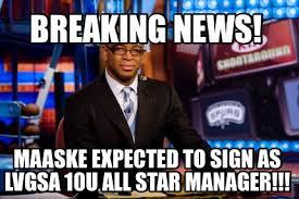 Breaking News Meme Generator - meme maker breaking news maaske expected to sign as lvgsa 10u all