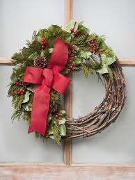 grapevine and preserved greens wreath 18 inch gardeners