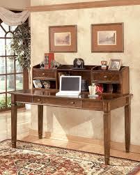 credenza computer desk buy hamlyn medium brown credenza desk with hutch by millennium