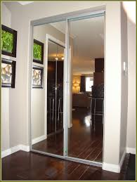 Closet Mirror Doors Home Depot Mirror Sliding Closet Doors Home Depot Home Design Ideas