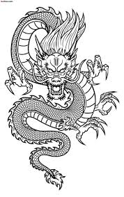 download dragon tattoo outline danielhuscroft com