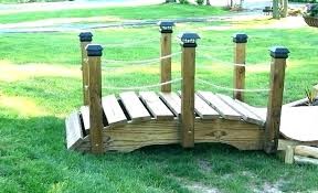 wooden bridge plans decorative garden bridge 6 rope bridge small wooden garden bridge