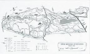 Map Nj South Mountain Reservation Hemlock Falls Njhiking Com